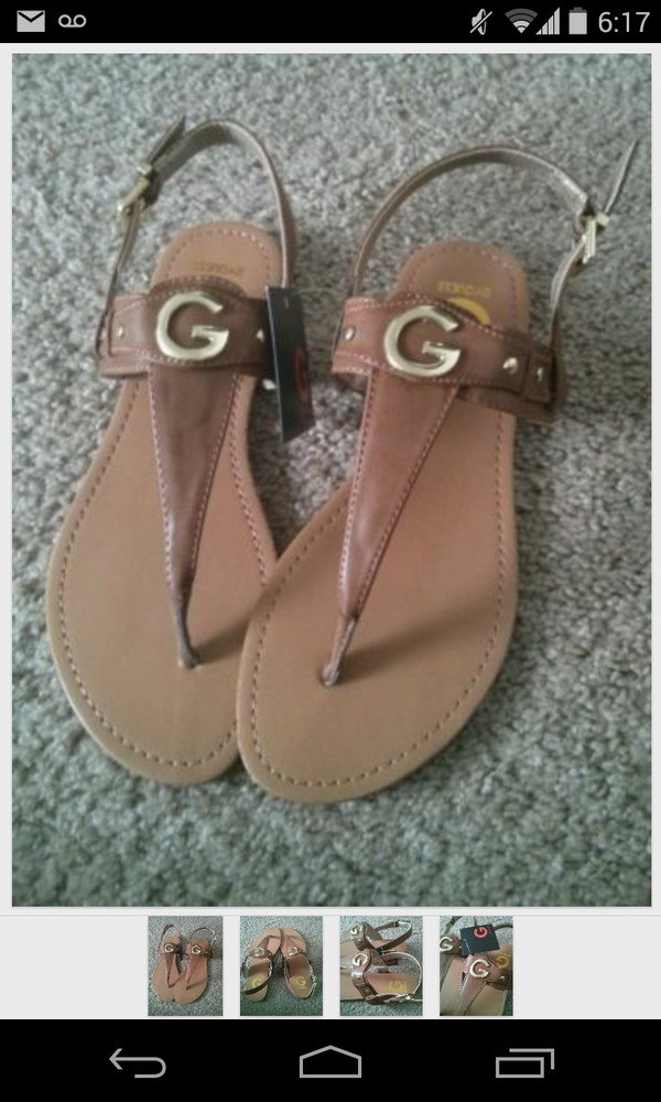 shoes guess sandals