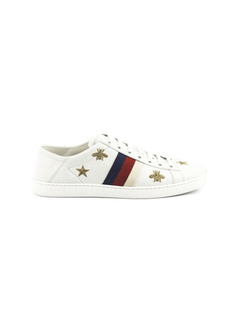sneakers. sneakers leather white stars shoes