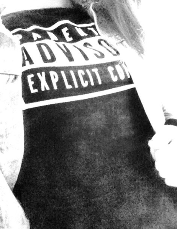 T-shirt Parental Advisory