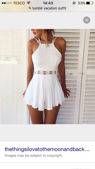 jumpsuit romper beach outfit summer outfits tan hot