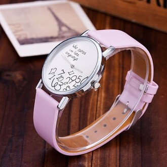 jewels watch pink fashion style funny teenagers boogzel