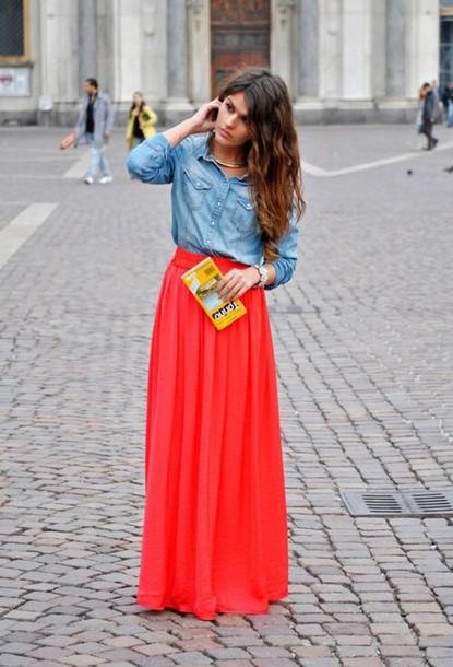 dress maxi skirt skirt