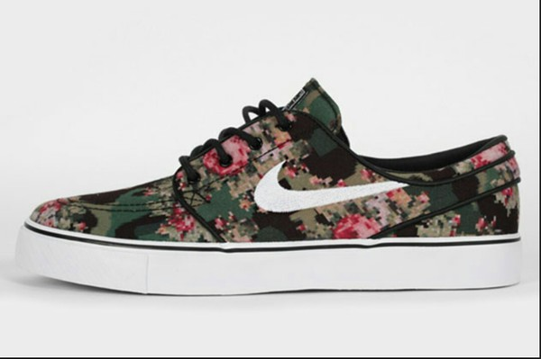 shoes nike flower sneakers