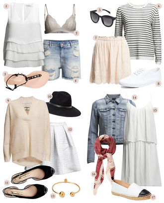 passions for fashion blogger top underwear shoes shorts sunglasses shirt skirt sweater hat jewels jacket dress scarf summer outfits