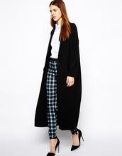 coat,black,oversized,long,large
