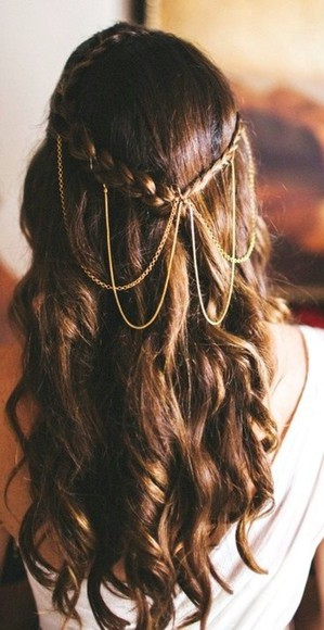 hipster wedding jewels hairstyles hair accessories
