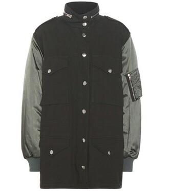 jacket cotton green
