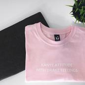 sweater,kanye west,pink,crewneck,crewneck sweater,t-shirt,kanye west shirt,pink t-shirt,baby pink,drake clothing,shirt,drake,pink shirt,hotline bling