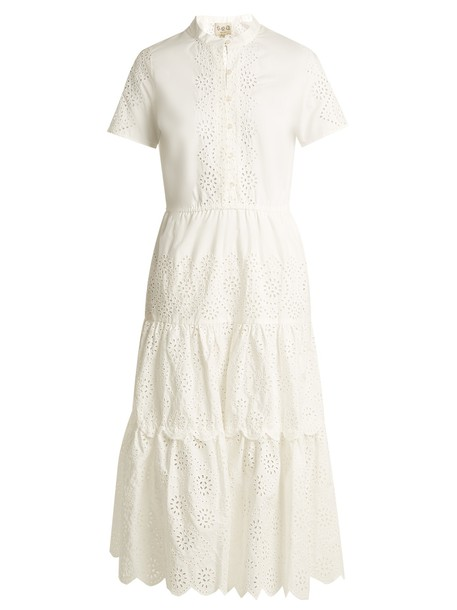 SEA dress cotton cream