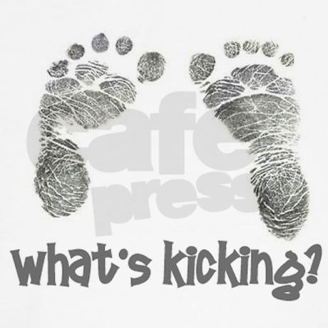 What's Kicking Shirt by tlbof