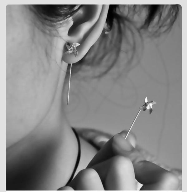 jewels earrings pinwheel
