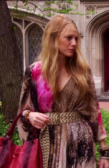 serena van der woodsen blouse style gossip girl fashion