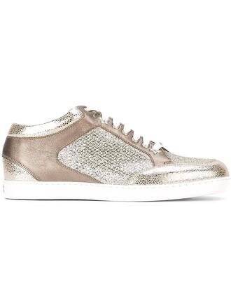 miami sneakers metallic shoes