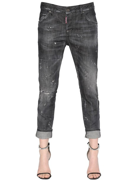 Dsquared2 jeans denim girl cool cotton black