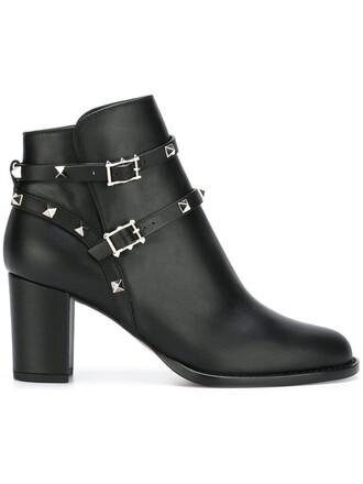noir boots ankle boots black shoes