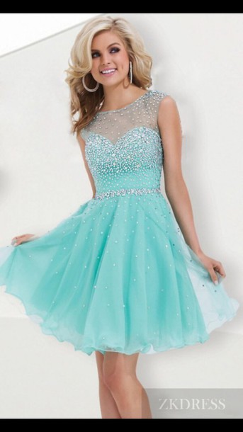 dress mint dress sparkly dress