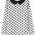 ROMWE | Polka Dots Print White Blouse, The Latest Street Fashion