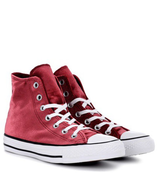 converse sneakers red shoes