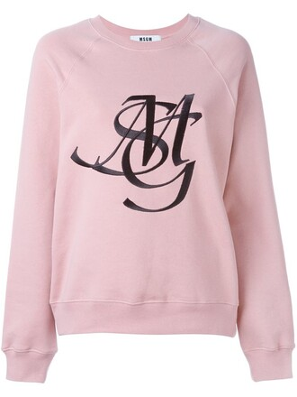 sweatshirt embroidered sweater