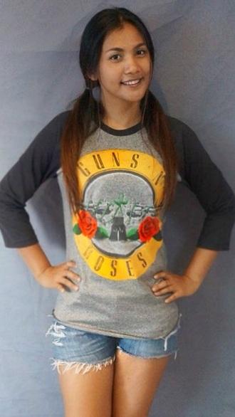 t-shirt gun n roses shirt guns and roses guns'n roses gun n roses guns  n roses shirt