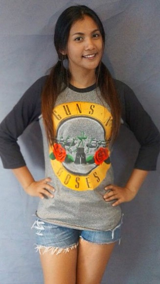 guns and roses t-shirt shirt guns  n roses gun n roses gun n roses shirt guns'n roses