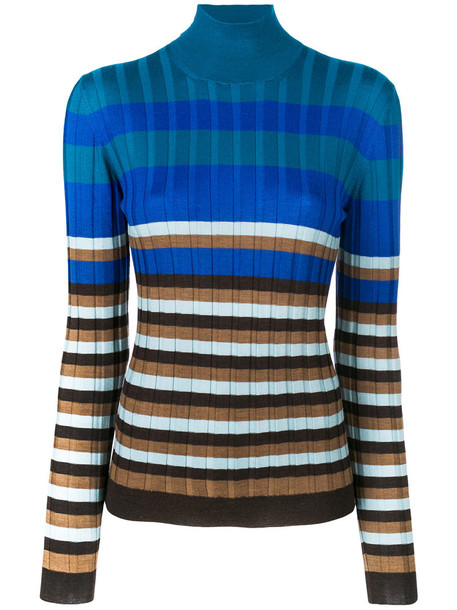 MARNI sweater women blue wool