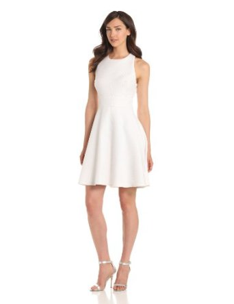 Amazon.com: Ivy & Blu Maggy Boutique Women's Sleeveless A Line Dress with Back Detail: Clothing