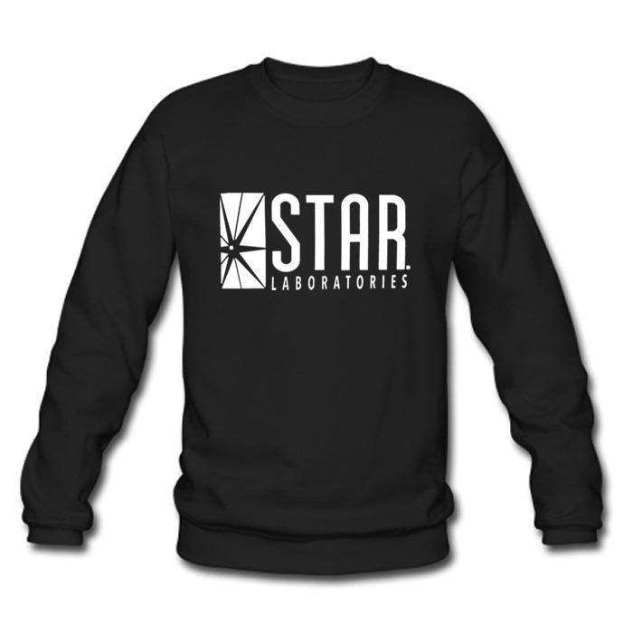 Star Laboratories The Flash Barry Allen Star Labs Man Black misty Sweatshirt