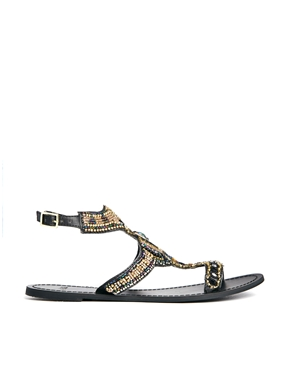 ASOS | ASOS FLORIDA KEYS Flat Sandals at ASOS