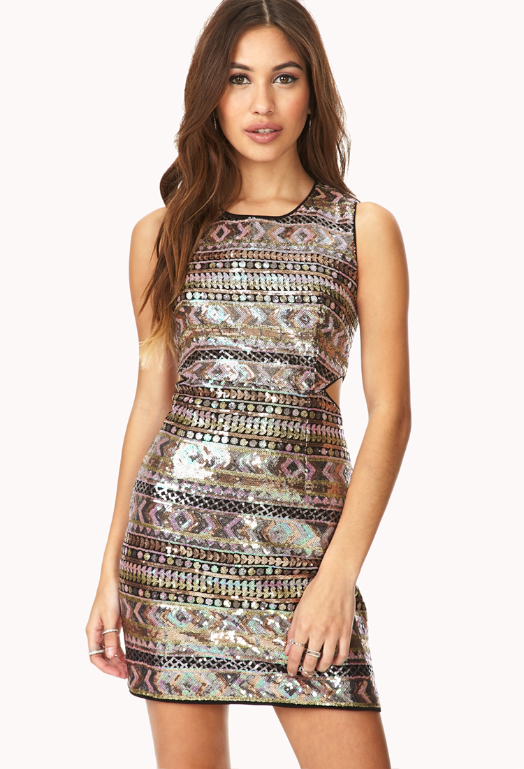 Sweet Escape Sequined Dress | FOREVER21 - 2000066034