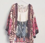 shorts,blouse,coat,denim shorts,top,kimono,ripped shorts,tank top,boho jacket,sweater,cardigan,cut off shorts,crop tops,t-shirt,fashion kimono,white,denim,floral,lace top,white top,floral kimono,summer,summer outfits,jacket,shirt,color motifs,cute,High waisted shorts,boho,kaftan,spring,purple,pink,wide,print,i want this whole outfit but mainly the shawl,lace,comfy,kawaii,japanese,style,gorgeous,floral jacket,floral print blouse,colorful,jacket coat shirt shorts shoes,red,pink eww,paisley,indie,cream,stuff,belt,flowers,kimono jacket,hippie,jeans,watery,lacerated,laces,bohemian,gypsy,fashion,trendy,fall colors,lazy day,black and white,clothes,lookbook,burgundy,maron,boho kimono,sweet,cool,stylish,vintage,boho chic,hipe,grunge,gloves,hipster,pattern,dress
