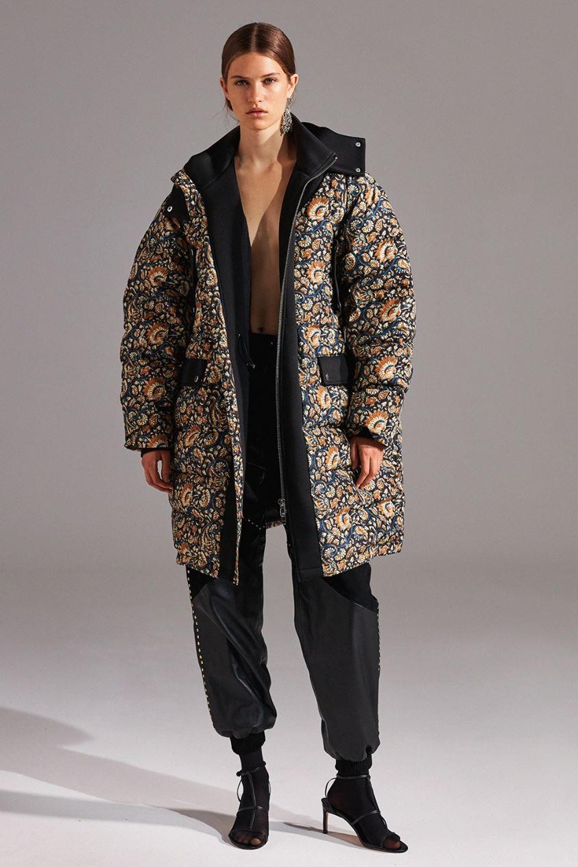 Kalak Oversize Printed Puffer Jacket - 36/XS - Antik Batik - Antik Batik