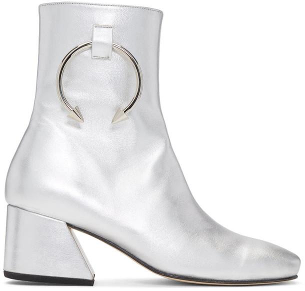 Dorateymur silver shoes