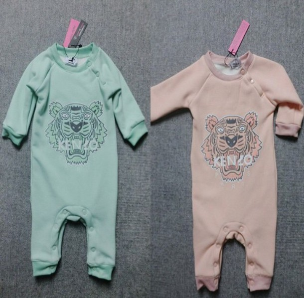 47345db50ca33 jumpsuit fashi kenzo sweatshirt kenzo kenzo tiger body baby clothing