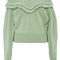 Cashmere off the shoulder sweater | moda operandi