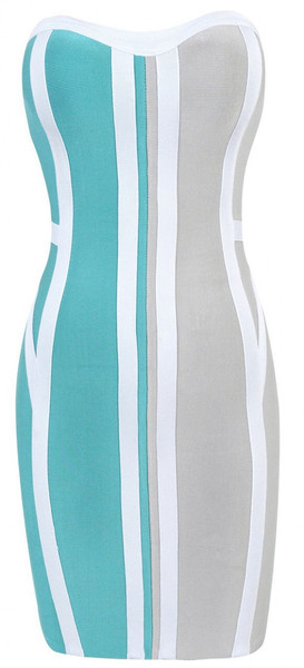 Cool mint bandage dress – starrsboutique