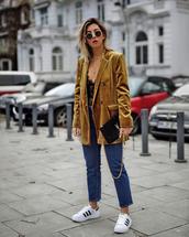 jacket,tumblr,blazer,velvet,velvet blazer,jeans,denim,blue jeans,cropped jeans,sneakers,white sneakers,low top sneakers