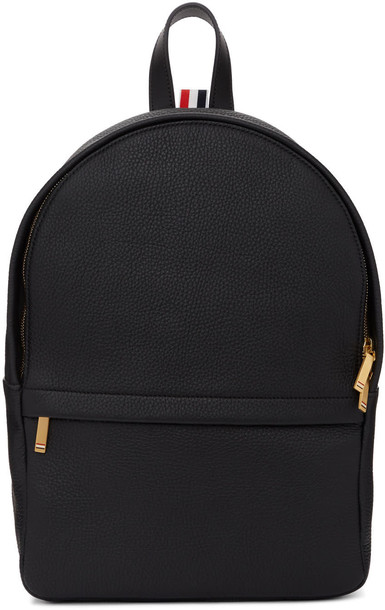 backpack leather black black leather bag