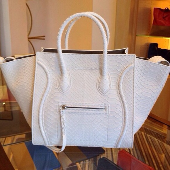 bag celine celine bag white bag white