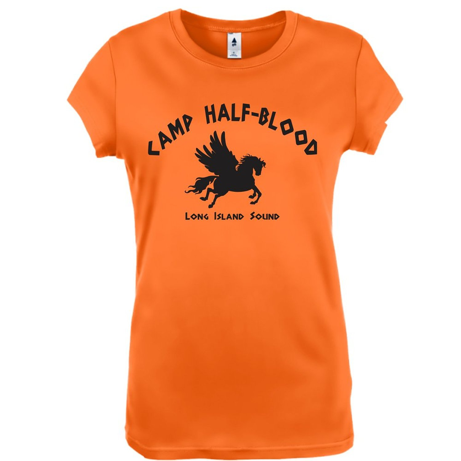 Amazon.com: Camp Half Blood Fun Half-Blood Cool Book Womens Shirt - Orange: Clothing