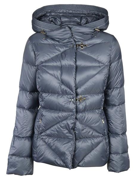 FAY jacket down jacket blue