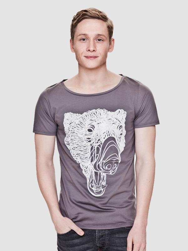 """Polar Bear"" Men Shirt - TO/WH - sale up to 50%"