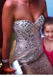 dress,prom,prom dress,diamonds,sweetheart neckline,strapless dress,shiny,pretty,australia,studded,beige dress
