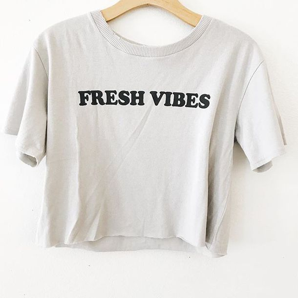 top, vibes, crop, crop tee, cute, trendy, love, hipster