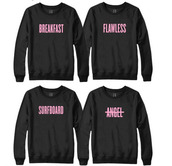 sweater,beyonce,578715,t-shirt,black,quote on it,pink,blouse