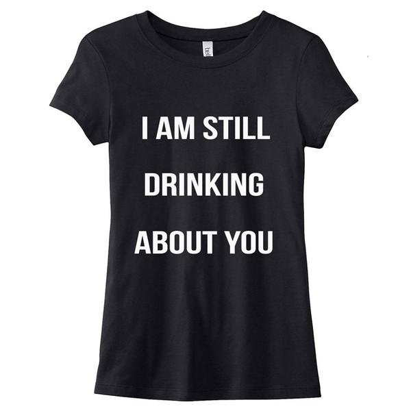 t-shirt lovedrunk thinking cute black