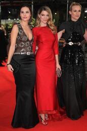 léa seydoux,red dress,diane kruger,virginie ledoyen,shoes