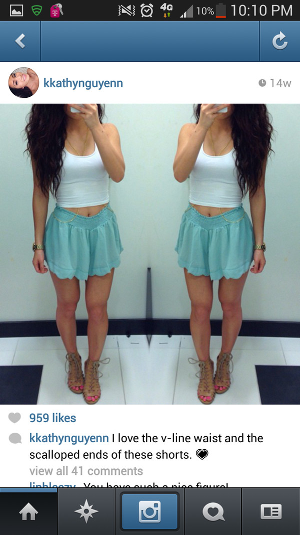 shorts turquoise skirt shorts pretty shoes