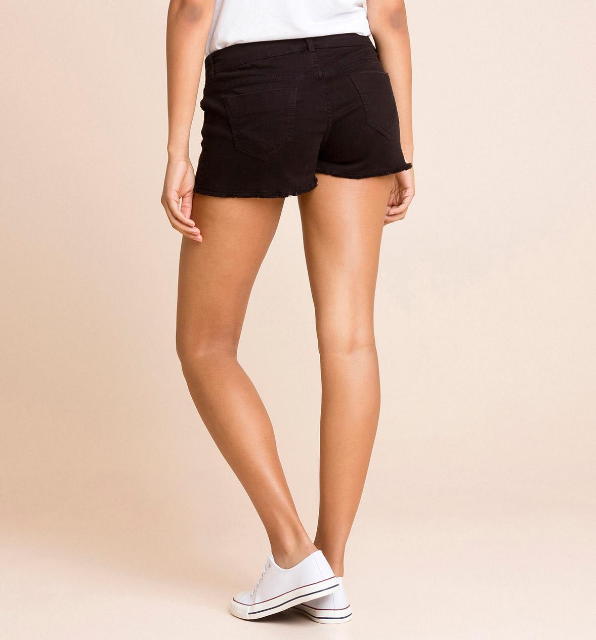 Mujer Shorts en negro – los mejores precios en C&A