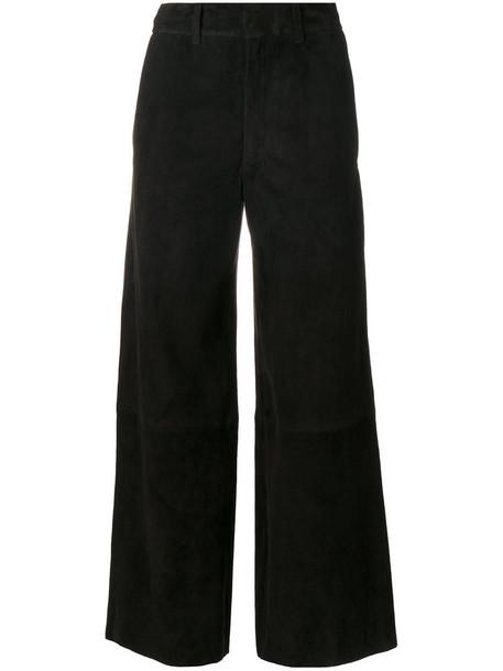 Joseph pants cropped pants cropped women spandex cotton black